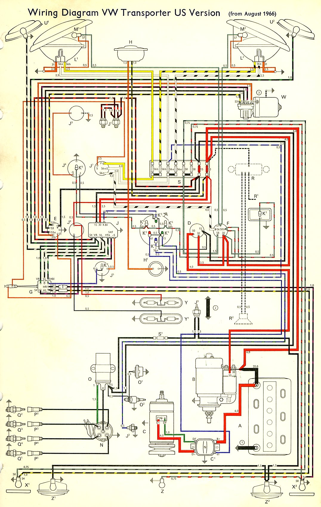 1066 international wiring diagram lighting 1066