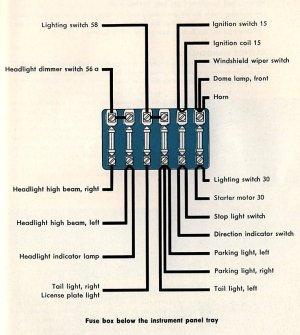 1960 Bus Wiring Diagram | TheGoldenBug