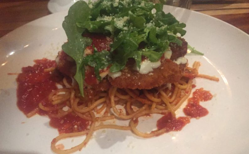 Perfect veal Parm