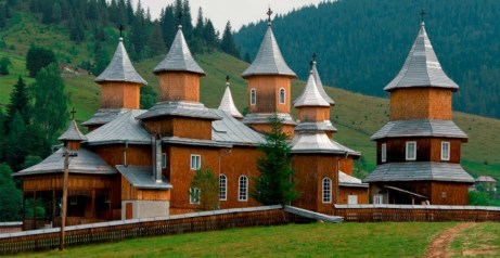Discovering bucovina the golden scope - The painted houses of ciocanesti ...