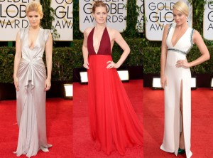 Red Carpet Trends from the 2014 Golden Globes Escote TheGoldenStyle