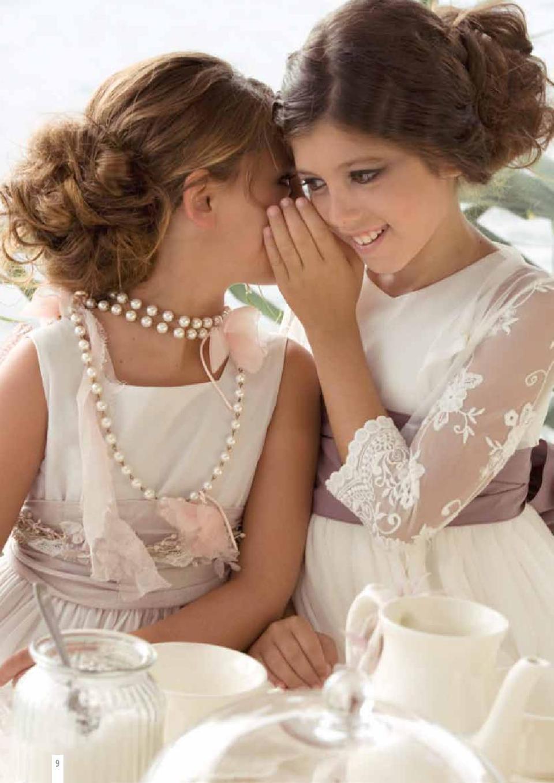 vestidos-comunión-2014 TheGoldenStyle-rubio-kids-3