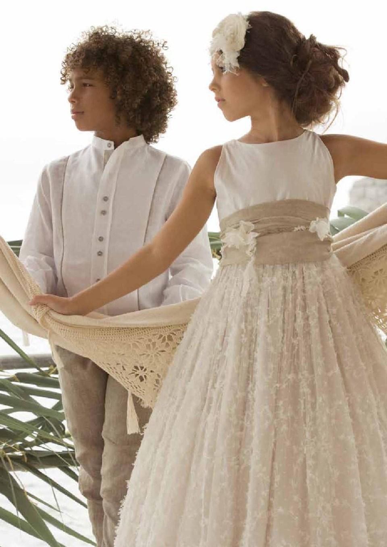 vestidos-comuniónTheGoldenStyle-2014-rubio-kids-1