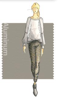 Tendencias de color Otono 2014 - Mujer TheGoldenStyle Aluminium