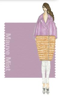 Tendencias de color Otono 2014 - Mujer TheGoldenStyle Mauve Mist