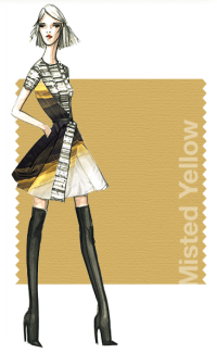 Tendencias de color Otono 2014 - Mujer TheGoldenStyle Misted Yellow
