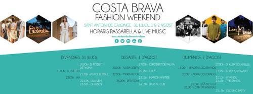HORARIS PASSAREL·LA & LIVE MUSIC