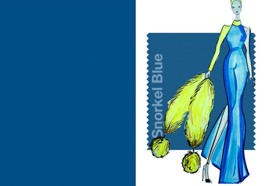 Tendencias color Primavera Verano 2016 Mujer TheGoldenstyle pantone-color snorkel-blue