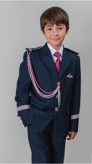 Trajes niño comunión 2016 Comunión TheGoldenStyle Comunión Almirante Marino Fucsia