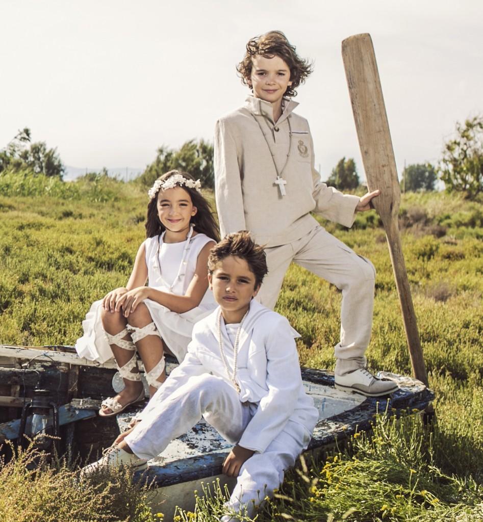 Trajes niño comunión 2016 Comunión TheGoldenStyle Rubio Kids