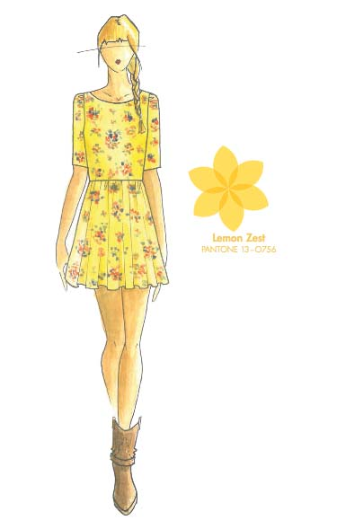 Tendencias de color para la primavera 2013 Lemon Zest TheColdenStyle