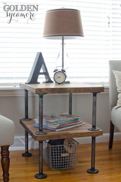 DIY-industrial-end-table-knockoff