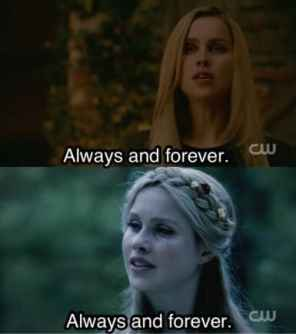 rebekah the originals always and forever