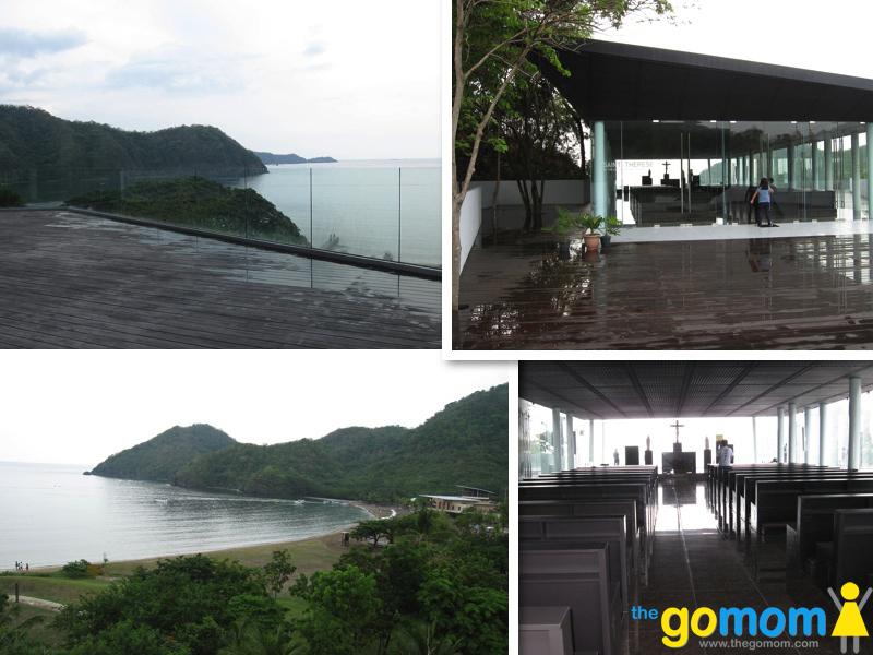 St. Therese Glass Chapel at Pico de Loro, Batangas