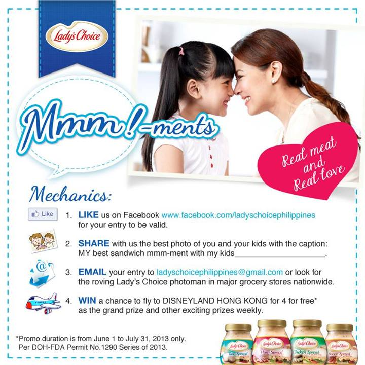 Lady's Choice Mmm-ments Promo 2013