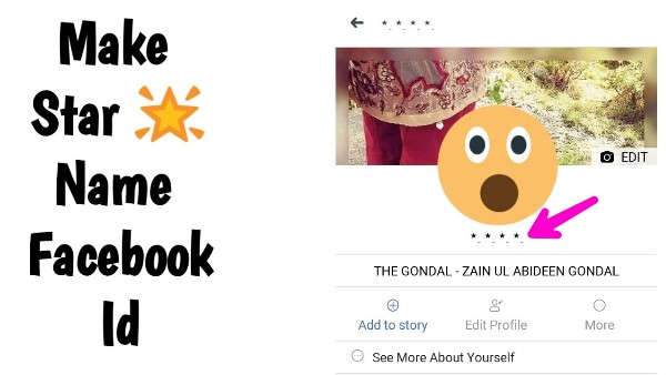 How To Make Star Name Facebook Id Without Any Vpn