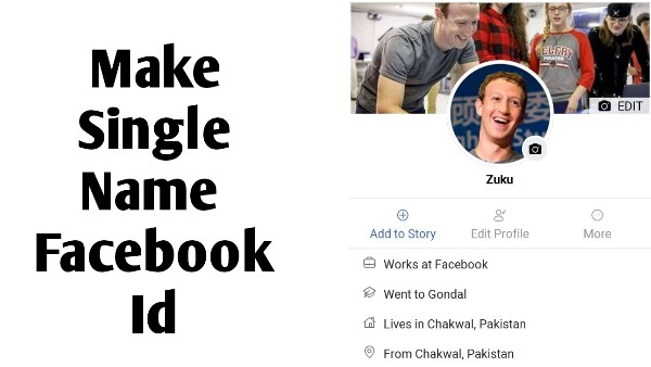 How To Make Single Name Id On Facebook - Touch Vpn Apk Old Version