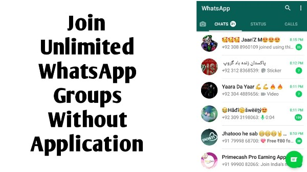 Whatsapp Group Link Join Unlimited Whatsapp Groups Without Admin