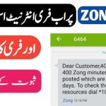 Zong Free Internet Code 2020 With Proof – Free Call on Zong