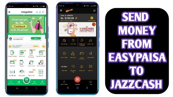 How to Transfer Money From Easypaisa App to Jazzcash App