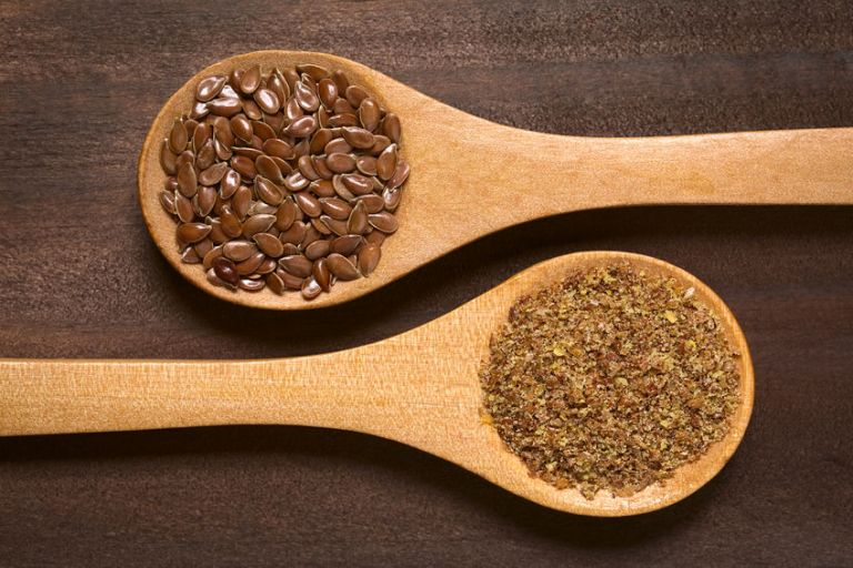 Brown Flax Seeds or Linseeds