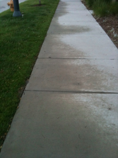 watersidewalk Do One Thing: Stop Watering The Sidewalk.
