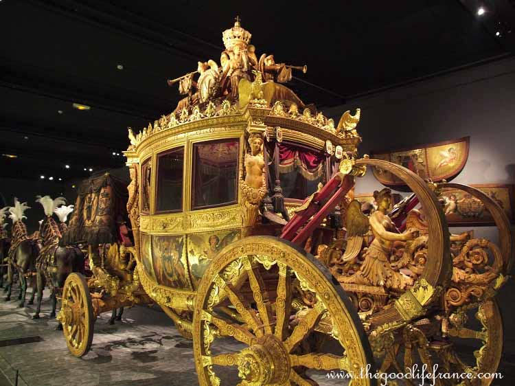 Roulez Carrosses Carriages Of Versailles Arrive In