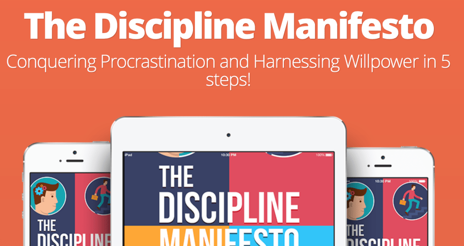 The Discipline Manifesto [eBook] Release!