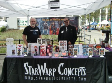 StarWarp Concepts booth