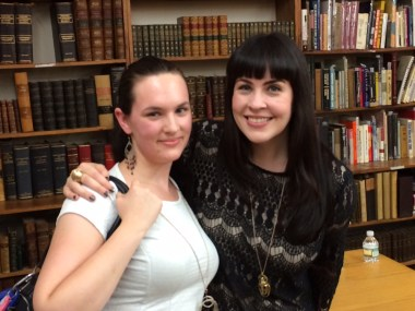 Me and Caitlin Doughty