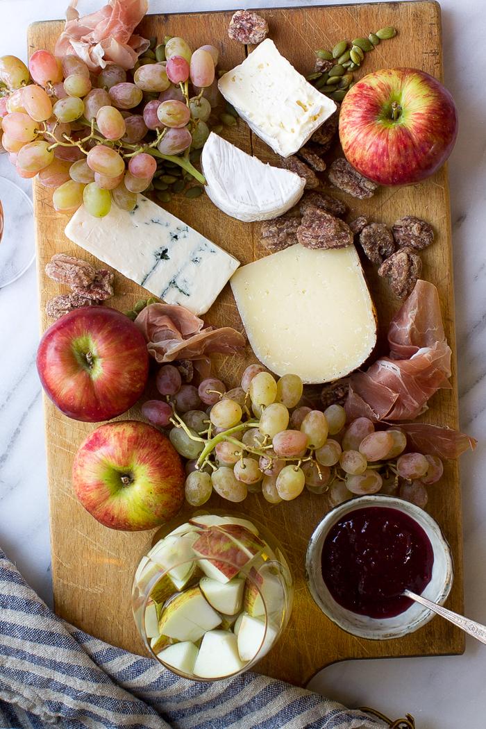Fall California Cheese Board