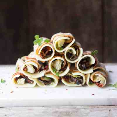 Antipasto Turkey Roll-Ups