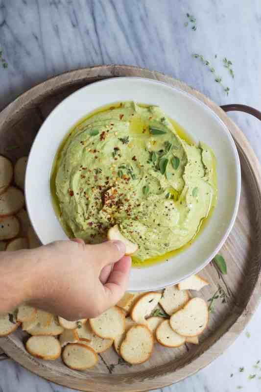 avocado, dip, appetizer, hummus, beans, chickpeas, garbanzo beans, avocado dip