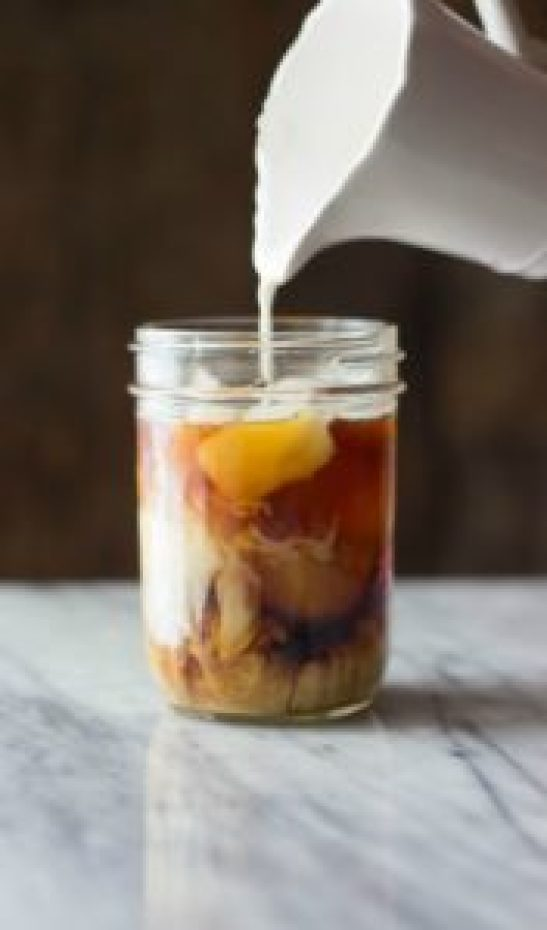 Coconut Caramel Cold Brew Coffee