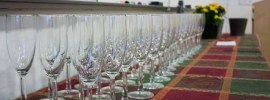 party, gala, event, glasses, table