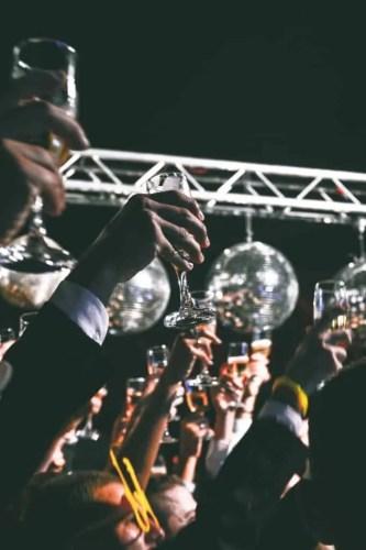 party, wine, celebration