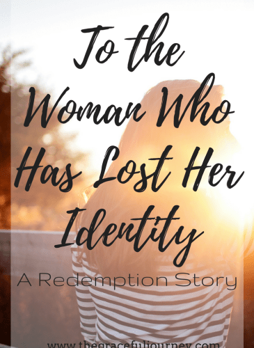 To the Woman Who Has Lost Her Identity