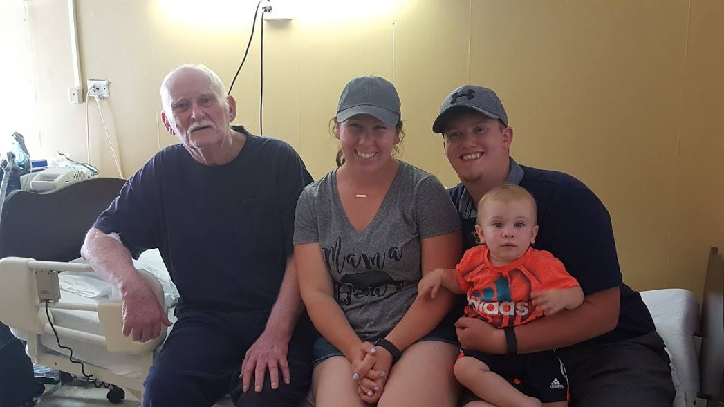 The Grand Seeley Adventure, Family Vacation, visiting papa