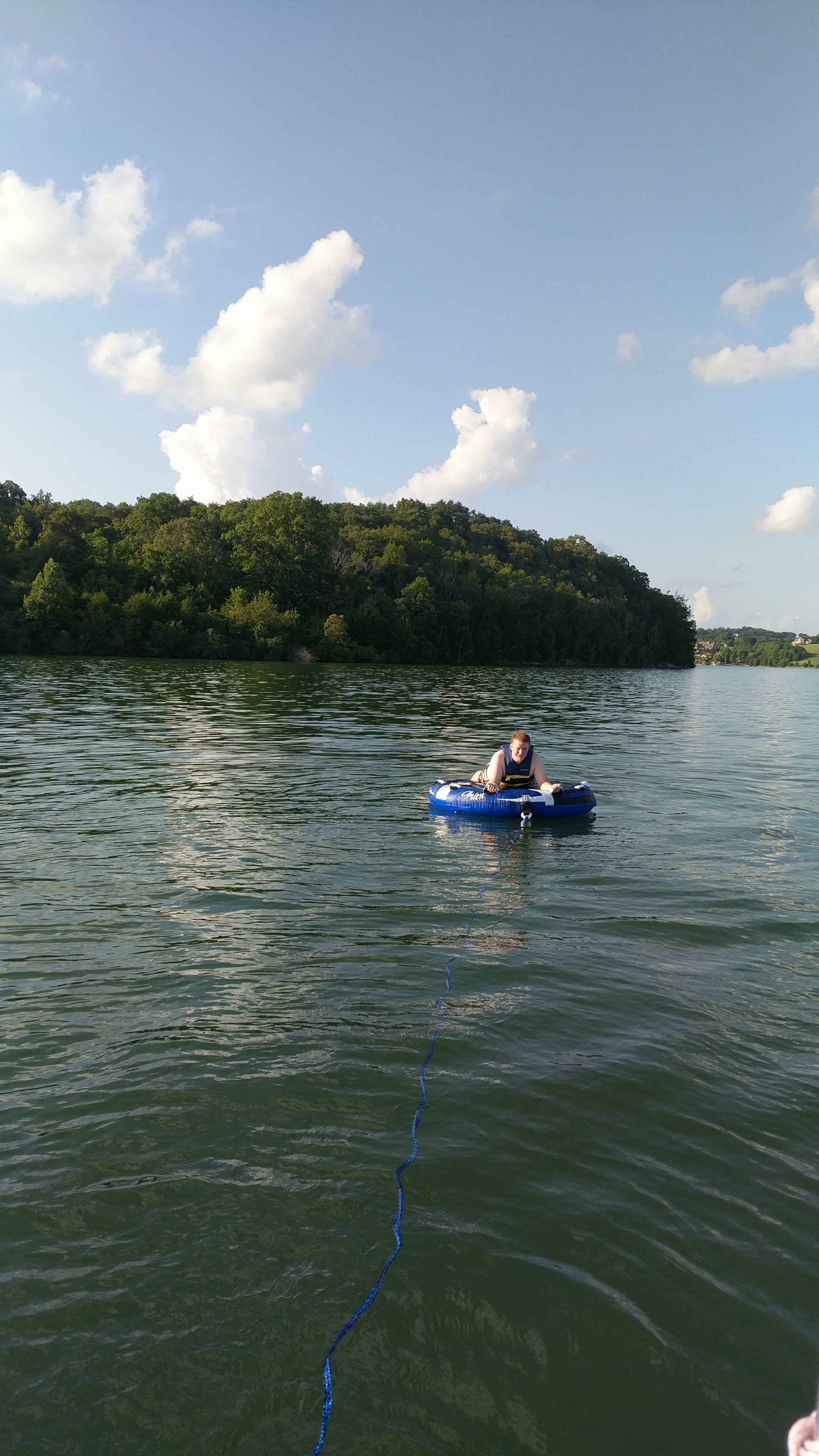 The Grand Seeley Adventure, family vacation, lake day, tubing, boating, water