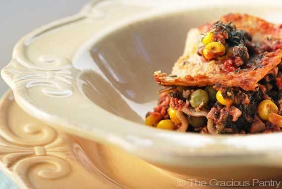 Clean Eating Vegetarian Lasagna