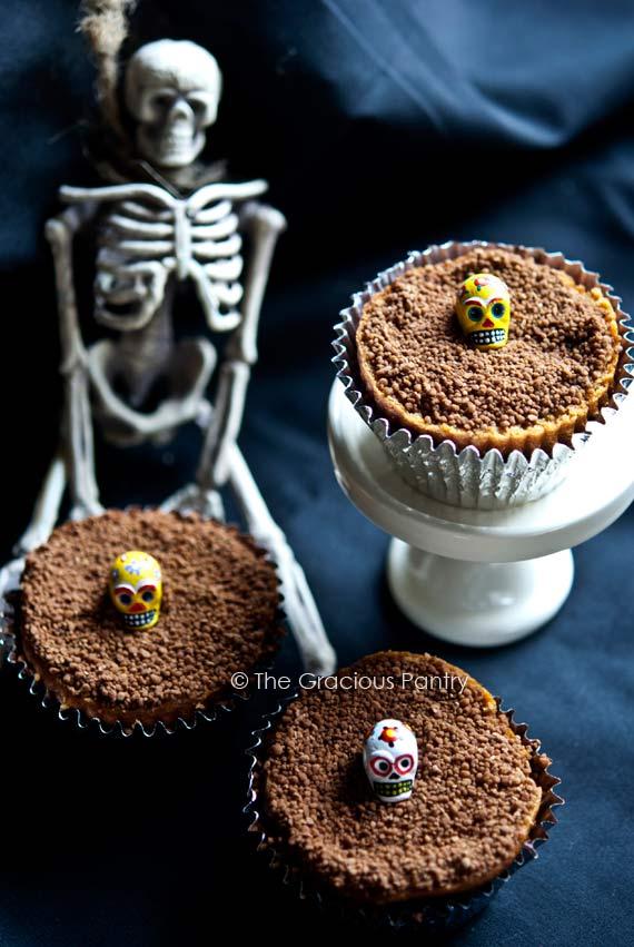 Clean Eating Graveyard Dirt Cupcakes Recipe The Gracious