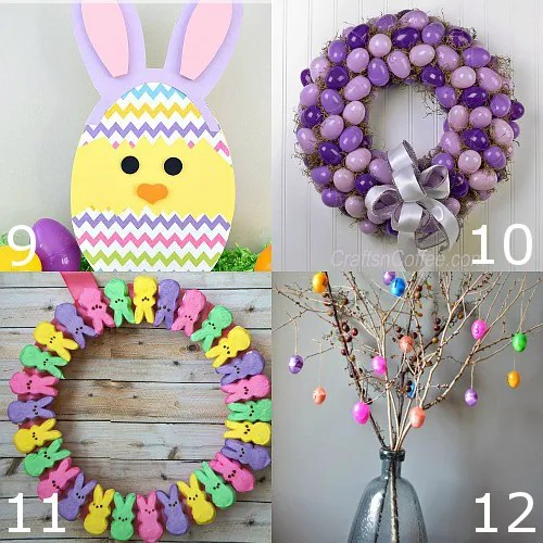 Diy easter decor for Diy easter decorations for the home