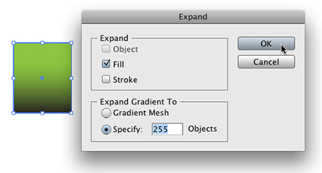 Converting Gradient Objects To Grayscale In Adobe Illustrator Cs3 The Graphic Mac