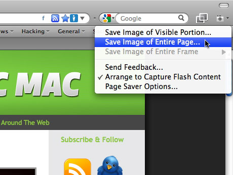 Great web page screenshot add on for firefox the graphic mac simple screen capture in firefox ccuart Choice Image