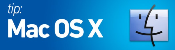 Mac OS X tip