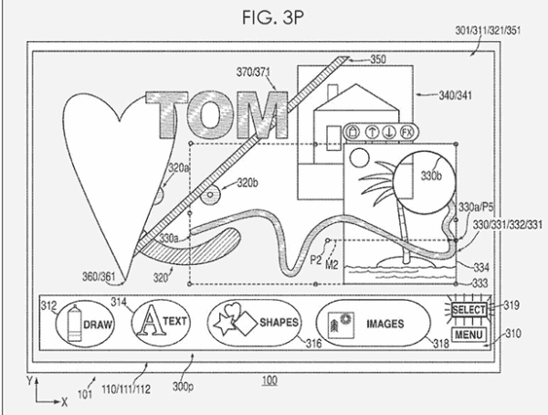 Apple graphics patent