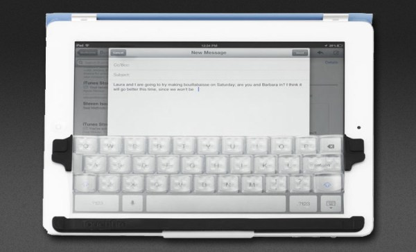 Touchfire keyboard