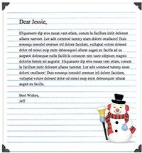 free letterhead templates for mac - free christmas mail stationery pack the graphic mac