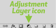 Photoshop Adjustment Layer icon