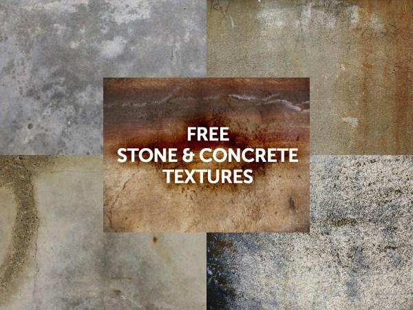 Stone & Concrete Textures